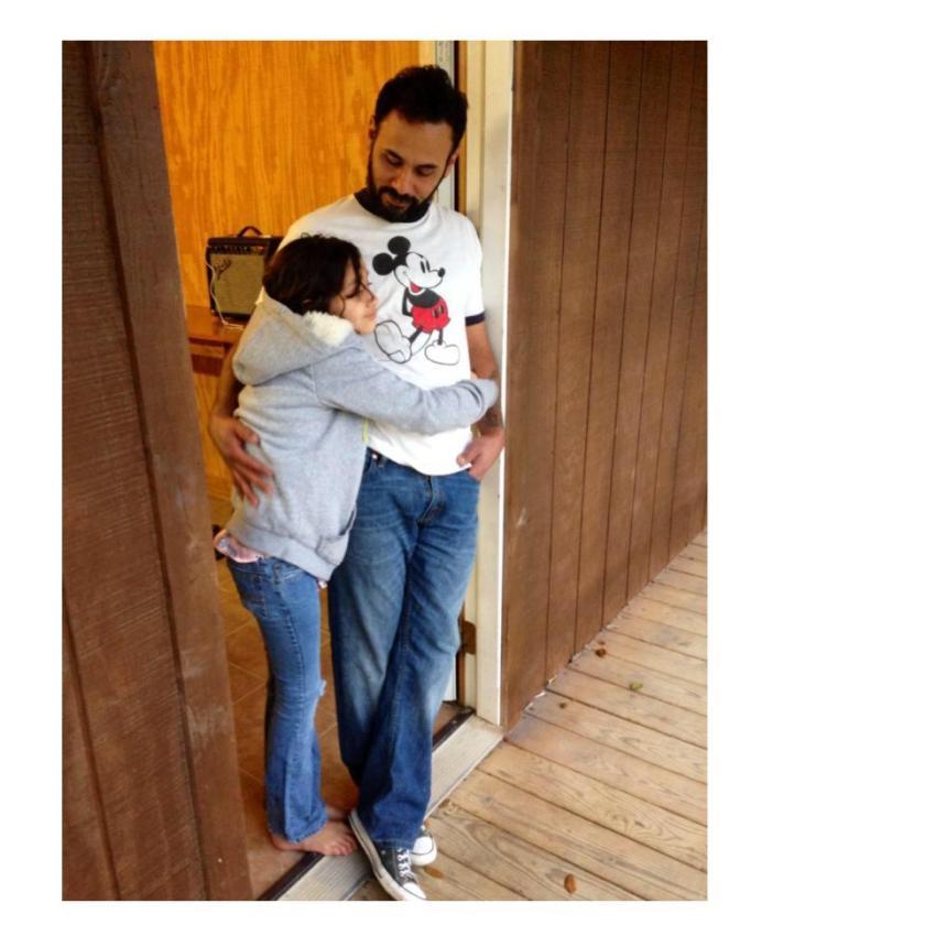 My Disneyland Husband and his beautiful daughter Penelope.